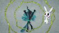Angel scared of Queen Chrysalis BFHHS1.png