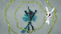 Angel scared of Queen Chrysalis BFHHS1