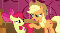 Applejack --why in tarnation would you lie-- S6E23