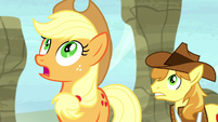 Applejack in shock S5E6