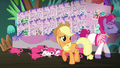 Applejack watches trainer 2 and Flying Prairinos leave S6E20.png