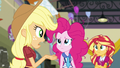 Applejack wondering where Twilight is EG3.png