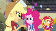 Applejack wondering where Twilight is EG3