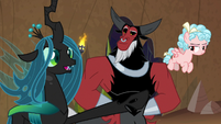 "Chrysalis ""this task is laughable"" S9E8"