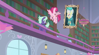 Clover the Clever's portrait comes to life S8E15
