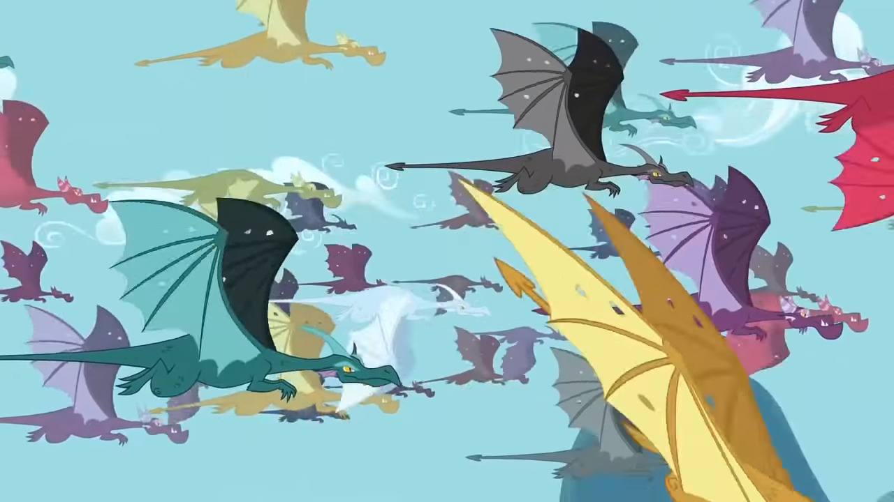 image dragons flying s2e21 png my little pony friendship is