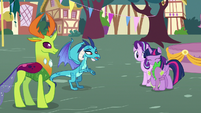 "Ember ""another part of pony friendship"" S7E15"