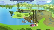 Fazenda Doce Maçã inundada T03E10