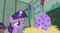 Filly Twilight only manages a tiny spark S5E25