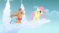 Fluttershy about to fly (Flashback) S2E22
