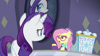 "Hipster Fluttershy ""how lame customers are"" S8E4"