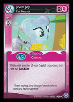 Jewel Joy, Fair Feaster card MLP CCG