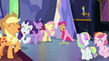 Main five, Toola Roola, and Coconut laughing S7E14.png