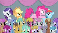 """Pinkie """"it all comes down to this one event?!"""" S4E24"""