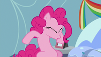 Pinkie Pie continues sneezing S7E23