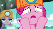 "Pinkie Pie panicking ""they're not bonding!"" S7E4"