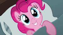 Pinkie Pie wakes up to the sunlight S8E3
