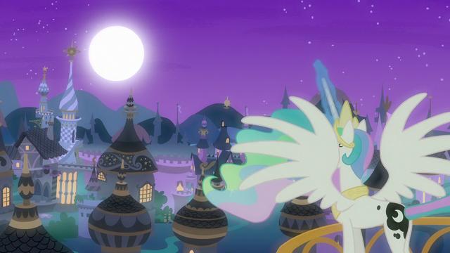 File:Princess Celestia raising the moon S7E10.png