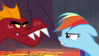 Rainbow Dash vs. Garble S7E25