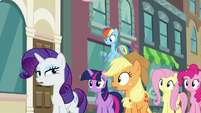 "Rarity ""I suppose it didn't make the cut"" S6E9"