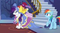 "Rarity ""my emotions, darling!"" S7E14"
