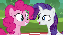 "Rarity ""the wonderful gifts you've gotten each other"" S6E3"