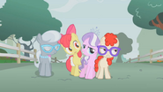 S01E12 Silver Spoon, Apple Bloom, Diamond Tiara i Twist