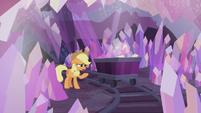 S05E20 Applejack w kopalni