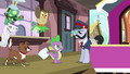 Spike, the pets, and All Aboard S03E11.png