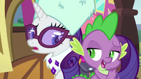 Spike --although if I did-- S6E17