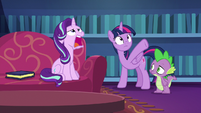 Starlight Glimmer groans with frustration S6E21