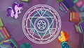 Starlight and Sunburst make a spell circle S7E1.png