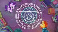 Starlight and Sunburst make a spell circle S7E1