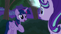 Thorax disguised as Twilight Sparkle S6E25