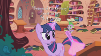 Twilight dusting desk S1E10