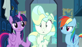 Twilight suggests telling Sky Stinger the truth S6E24.png