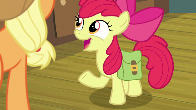 """File:Apple Bloom """"what do you say, Big Mac?"""" S7E13.png"""