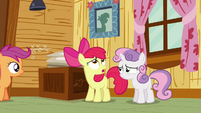 Apple Bloom rolls eyes S3E06