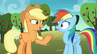 "Applejack ""look after them for me"" S8E5"