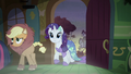Applejack and Rarity enter the cottage S5E21.png