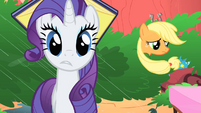 Applejack apologizes to Rarity S1E08
