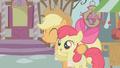 Applejack hugs Apple Bloom S1E12.png