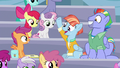 Bow and Windy happy for Rainbow Dash S7E7.png