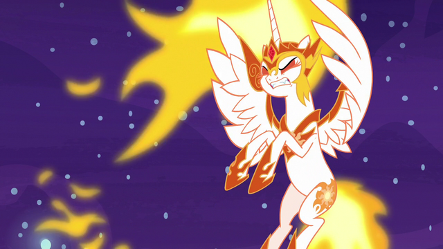 File:Daybreaker gets thrown by Nightmare Moon's blast S7E10.png