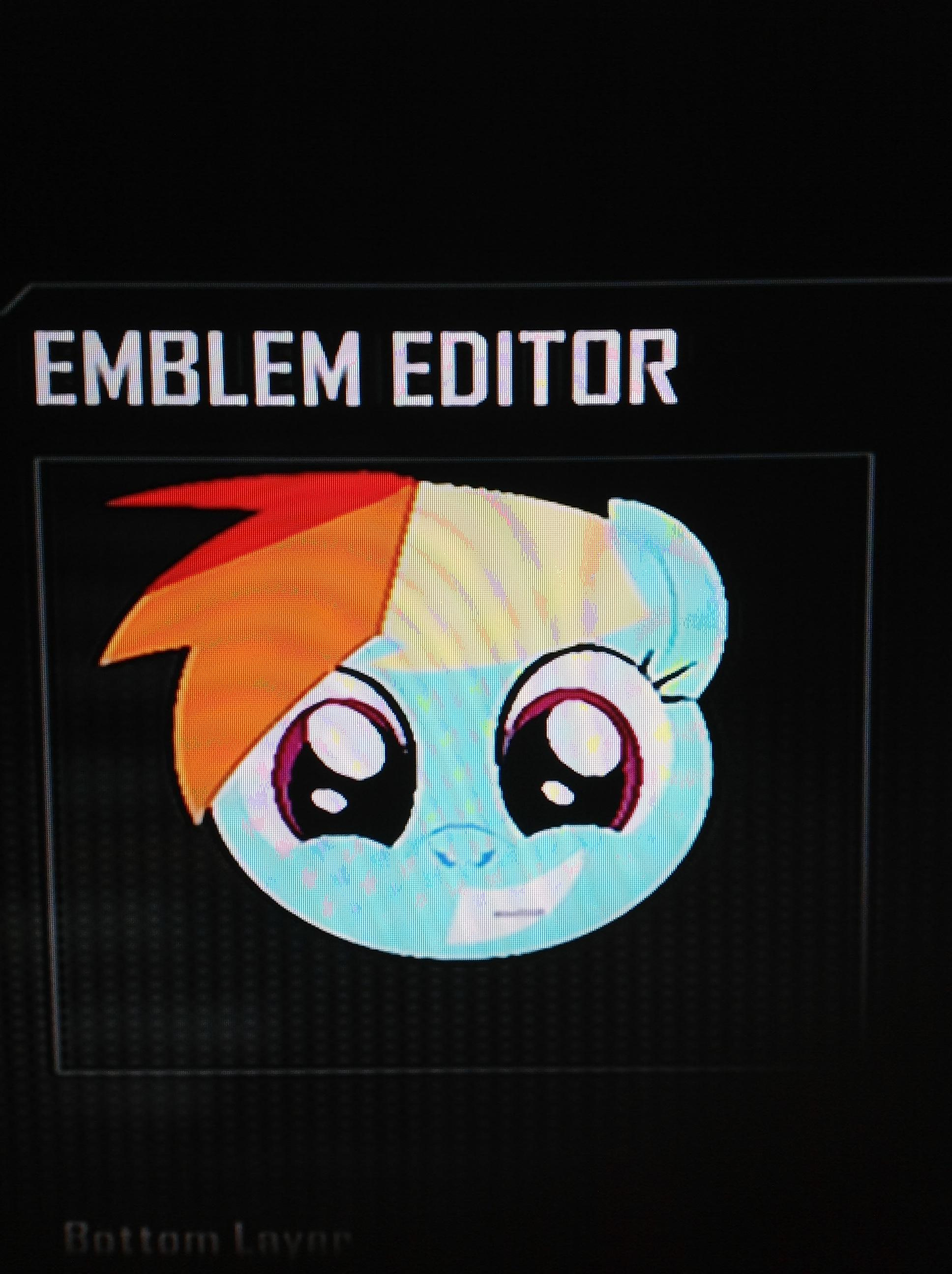 Image fanmade rainbow dash black ops 2 emblemg my little fanmade rainbow dash black ops 2 emblemg biocorpaavc
