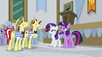 Flam explaining what -accredited- means S8E16