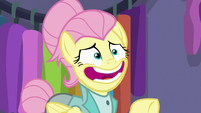 "Fluttershy ""one moment, please"" S8E4"