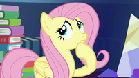 Fluttershy thinking for a moment S7E20