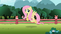 Fluttershy trotting S2E07.png
