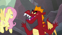 "Garble calls Spike a ""pony-dragon"" S9E9"
